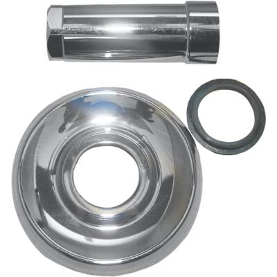 Lasco 3-1/8 In. OD Chrome Tub & Shower Flange For Delta Delex