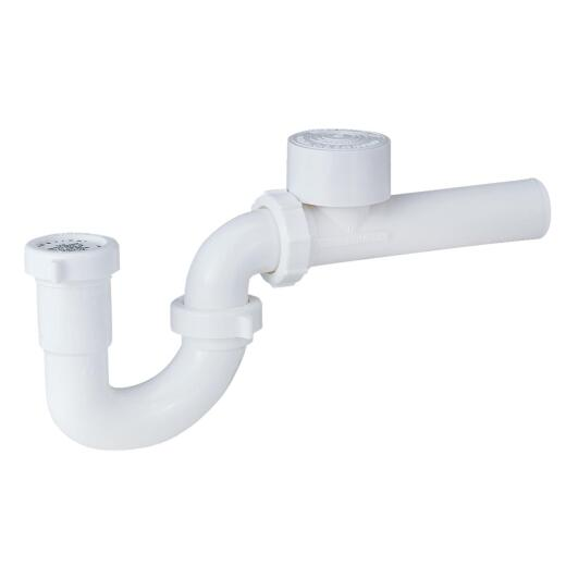 Genova 1-1/2 In. White PVC P-Trap